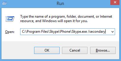 Chat nhiều nick Skype trên cùng một máy tính