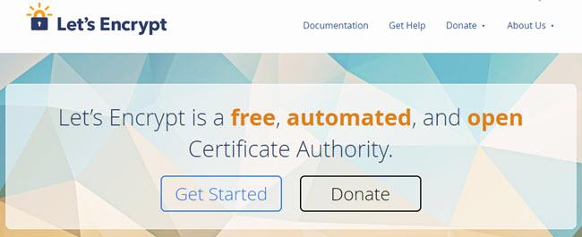 Các nhà cung cấp chứng chỉ số SSL nên sử dụng