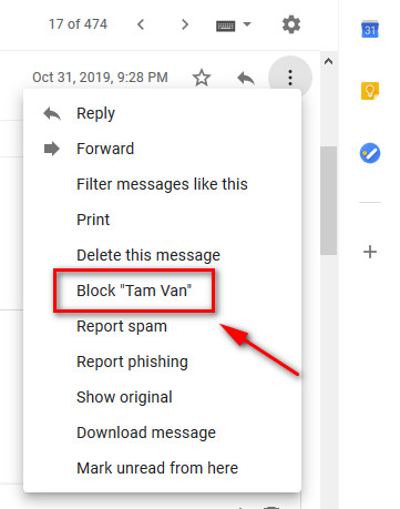 thủ thuật Gmail